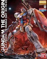 Bandai  1/100 Master Grade Series: RX78-02 Gundam The Origin BAN201314