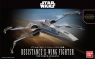 Bandai  1/72 Star Wars The Force Awakens: Resistance X-Wing Fighter BAN202289