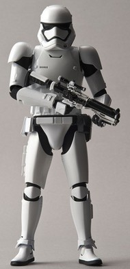 Bandai  1/12 Star Wars The Force Awakens: First Order Stormtrooper Figure (Snap) BAN203217