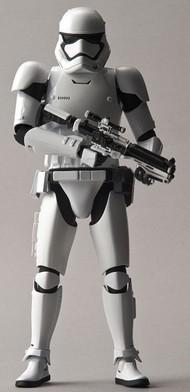 Bandai  1/12 Star Wars The Force Awakens: First Order Stormtrooper Figure (Snap) BAN203217