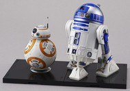 Bandai  1/12 Star Wars: BB8 & R2D2 Droid Figures (Snap) BAN203220