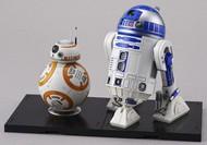 Bandai  1/12 Star Wars: BB8 & R2D2 Droid Figures (Snap) BAN203220