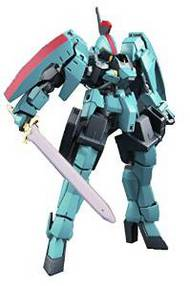 Bandai  1/144 HG Gundam Iron-Blooded Orphans Series: #017 Carta's Graze Ritter BAN204179