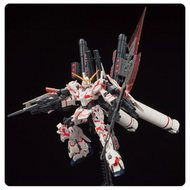Bandai  1/144 HG Universal Century Series: #199 RX-0 Full Armor Unicorn Gundam (Destroy Mode/Red Color Ver) BAN207581
