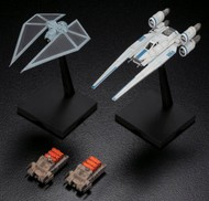 Bandai  1/144 Star Wars Rogue One: U-Wing Fighter & Tie Striker BAN212184