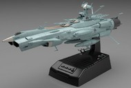 Bandai  1/1000 Star Blazers 2202 Series: UNCF AAA1 Andromeda Space Battleship Movie Effect Version (w/LED Lights & Sound) BAN214500