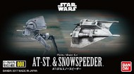 Bandai  1/144 Star Wars: AT-ST Transport Walker & Snowspeeder BAN215632