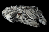 Bandai  1/72 Perfect Grade Series: Star Wars A New Hope Millennium Falcon (Studio Model Version) (New Tool) BAN216384
