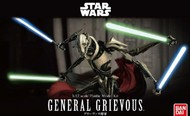 Bandai  1/12 Star Wars: General Grievous Supreme Commander Figure (Snap) BAN216743