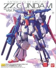 Bandai  1/100 Master Grade Series: ZZ Gundam Ver.Ka BAN216744