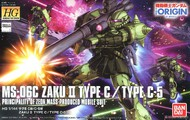 Bandai  1/144 HG Gundam The Origin: #016 MS06C Zaku II Type C/Type C5 BAN216745