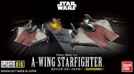 Bandai  1/144 Star Wars: A-Wing Starfighter (2 Kits) BAN217623