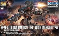 Bandai  1/144 HG Gundam The Origin: Gundam Local Type North American Front BAN218428