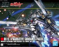 Bandai  1/144 HG Universal Century Series: #218 RX9/A Narrative Gundam A-Packs BAN5055365