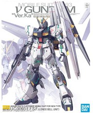 Bandai  1/100 Master Grade Series: Mobile Suit RX93 V Gundam Ver.Ka UC0093 EFSF (Londo Bell Unit) BAN5055454