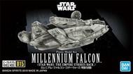 Bandai  1/350 Star Wars Empire Strikes Back: Millennium Falcon BAN5055704