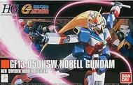 Bandai  1/144 HG Universal Century Series: #119 GF13-050NSW Nobel Gundam G - Pre-Order Item BAN5055720