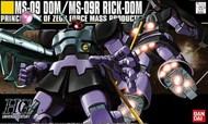 Bandai  1/144 HG Universal Century Series: MS09 Dom/MS09R Rick-Dom BAN5055877