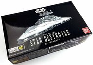 Bandai  1/5000 Star Wars A New Hope: Star Destroyer LED Lighted w/in-scale Millennium Falcon & Blockade Runner (First Production Ltd Edition) BAN5057625