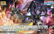 Bandai  1/144 HG Gundam The Origin Series: #005 MS06R1A Zaku II Principality of Zeon (Ortega) BAN5057734