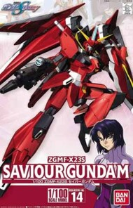 Bandai  1/100 Gundam Seed Series: #014 ZGMF-X23S Savior Gundam BAN5058782