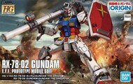 Bandai  1/144 HG Gundam The Origin Series: #026 RX78-02 Gundam - Pre-Order Item BAN5058929