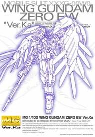 Bandai  1/100 MG Gundam Wing Series: Gundam Zero (EW) Ver.Ka Endless Waltz BAN5060760