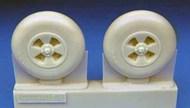 Hawker Tempest Late Main Wheels Smooth (EDU kit) #BARBR48403
