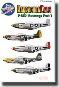 P-51D Mustangs - Part 1 #BARBC32009