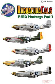 North-American P-51D Mustangs of the 8th Air Force (5) #BCL48011
