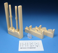 Barracuda Studio Studios  1/72 HS Redtop Air-to-Air Missiles w/Decals for ARX (Resin) BCL72214