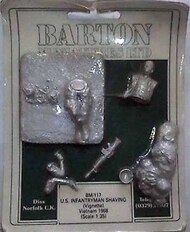 Barton Figures  1/35 Collection - US Infantry Shaving (Vignette) BM117