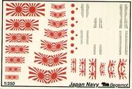 Begemot  1/350 Japan Navy Navy Flags and Markings. BT35003