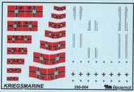 Begemot  1/350 German Kriegsmarine flags and markings BT35004