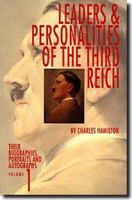 Bender Publications   N/A Leaders and Personnalities of the Third Reich Vol.1 BP027