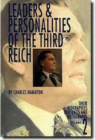 Bender Publications   N/A Leaders and Personalities of the Third Reich Vol.2 BP066