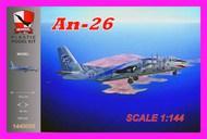 Antonov An-26 LZ-ABR (Skulls) #BIG1440058