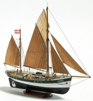 BILLING BOATS  1/60 Dana Double-Masted North Zealand Fishing Boat w/Vacu-Form Hull (Beginner) BBT200