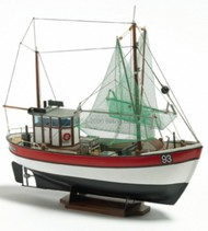 BILLING BOATS  1/60 Rainbow Double-Masted Coastal Ship  Cutter Boat w/Vacu-Form Hull (Beginner) BBT201