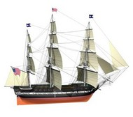 Billing Boats  1/100 USS Constitution 3-Masted 1797 Frigate Ship (Advanced) BBT508