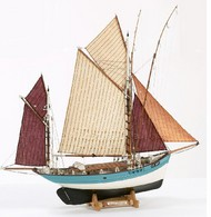 Billing Boats  1/50 Marie Jeanne Double-Masted 19thc. French Tuna Boat (Intermediate) BBT580