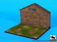 WWI Airfield with hangar frontage base #BDD72057