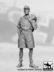 German Luftwaffe pilot Africa 1940-1945 N-2 #BDF32050