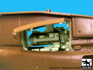 Bell OH-58D Kiowa engine (designed to be used with Italeri kits) #BDOA48061