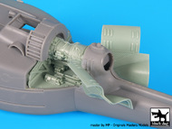 Bell UH-1C Huey Helicopter engine (designed to be used with Hobby Boss kits) #BDOA48062