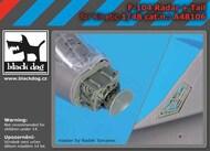 Lockheed F-104 Starfighter radar and tail #BDOA48106
