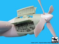 Lockheed AC-130H Hercules Engine #BDOA72027