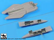 Grumman F-14A Tomcat electronics, spine detail and dive brakes #BDOA72072