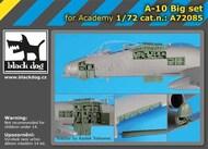 Fairchild A-10A Thunderbolt II Big set with BDOA72083 and BDOA72084 #BDOA72085