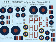Blackbird Models  1/48 Operation Overlord Pt:1 BMD48008